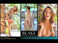 Blake and Shay luscious seductive teen on her way to LA for more adult work