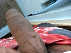 My big large ebony shaft