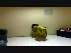 Compilation arab hijab dance naughty butt part1