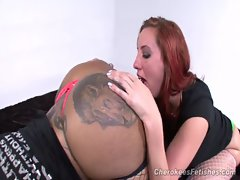 Cherokee &amp_ Kelly Divine - Dirty ass Worship #Cornbread