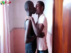 Black African Twinks On Giving blowjob
