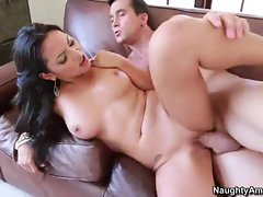 Adriana Luna gets her lewd snatch filled with hard prick