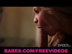 Perfect blond better half Sarah Vandella rides her husband