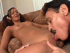 Crissy Moon seduces her teacher and teaches him a lesson in sex