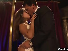 Jynx Maze is a obscene Bond babe screwed Analy