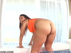 Top heavy Magda Marie Swallows a big Load of cum!