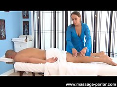 Haley Perfect Massages Then Screws Her Client