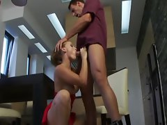 Kathia Nobili lets it all hang out when her stunning anal is pummeled