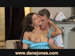 DaneJones Stiff dark haired loves being taken