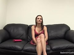 Gorgeous Chick Assfucked At Casting Couch