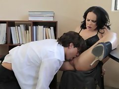 Katie St Ives is banged in a irreproachable parody clip