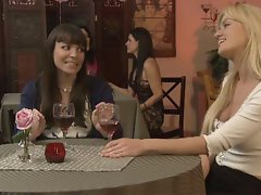Angela Sommers gets so naught with her carpet munching friend Dana DeArmond