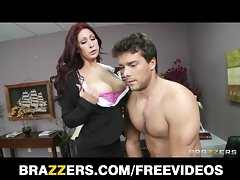 Redhead Mommy Tiffany Mynx punished for poor work