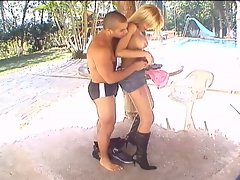 Transvestite vacationing with lover
