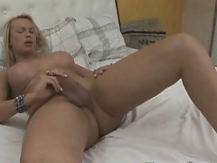 Spurts hungry transvestite cool solo jerking