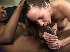 Kelly divine fellatio and fuck by giant black dick