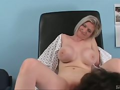 Sky jones gets a physical from doctor julian