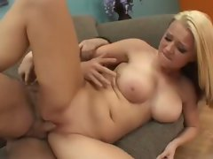 Big melons blondie barely legal teen ami jordan grinded on couch