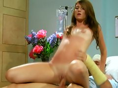 Huge pecker fills cassandra nix