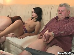 Mother and dad bangs my fuck partner