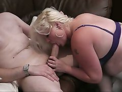 Massive hooters obese blond banged brutal in doggy style