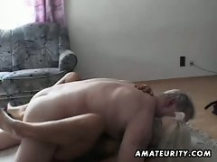 Tempting blond gf blows phallus and rides it