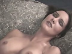 Dark haired mum jordan styles makes ed powers cum