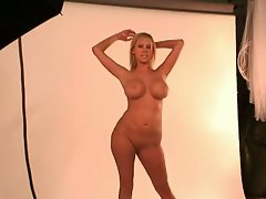 Top heavy blond actress carly parker luscious photo shoot