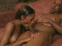 Charming naughty ebony cute chicks and her lover