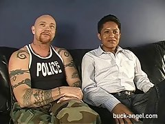 Transman Buck Angel gets Plowed by extremely big cock