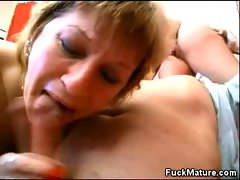 Filthy Crazy threesome action Attractive mature Sex