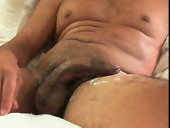 LATINO BIG Solid cock CUMMING