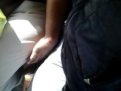 touching legs aged granny in bus (She is hot!) part 2