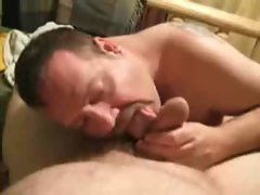hand job by daddy bear