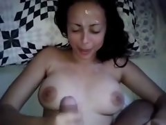 19 years old amateur couple in several positions with facial finish
