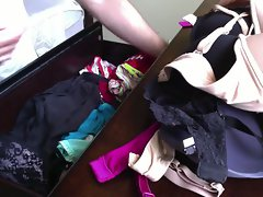 Buddies Wife's Panty Drawer - 31 Year Aged Blondie - Part 1