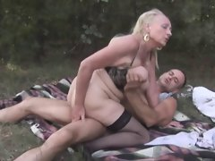 In the German Woods 2 - The Granny Outdoors