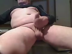 Dads Big Uncut Prick Cums