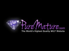 PureMature HD mamma gets facial