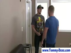 Pornstar Tommy Dxxx find enjoyment in giving blowjob execution