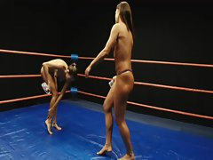 ring oilwrestling topless