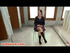 Lesdom Toilet Student Slave Bum and Torments