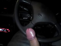 UK Lass 19yr Caresses My Prick In 4x4