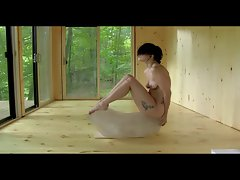 Lady Gaga nude yoga