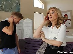 Mommy hoe Nina Hartley fuck 18yo shaft at Randy America