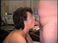 Cock sucking & swallow sperm