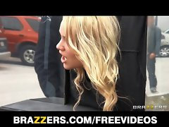 Brazzers & Alexis Monroe give a new twist to public shagging