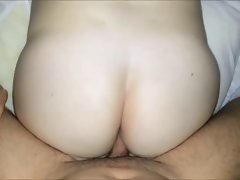 the BIG Butt WHITE Vixen MY Slutty wife FLASHING