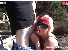 July horny outdoor gefickt