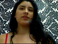 Enormous melons latin whore spreads snatch on cam